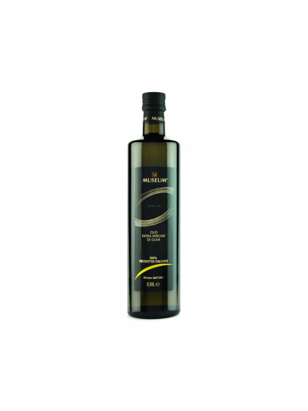 Museum ekstra jomfru olivenolie gult label