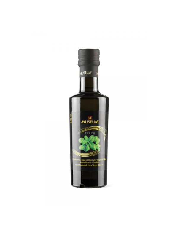 Museum Aromatiseret ekstra jomfru olivenolie basilikum