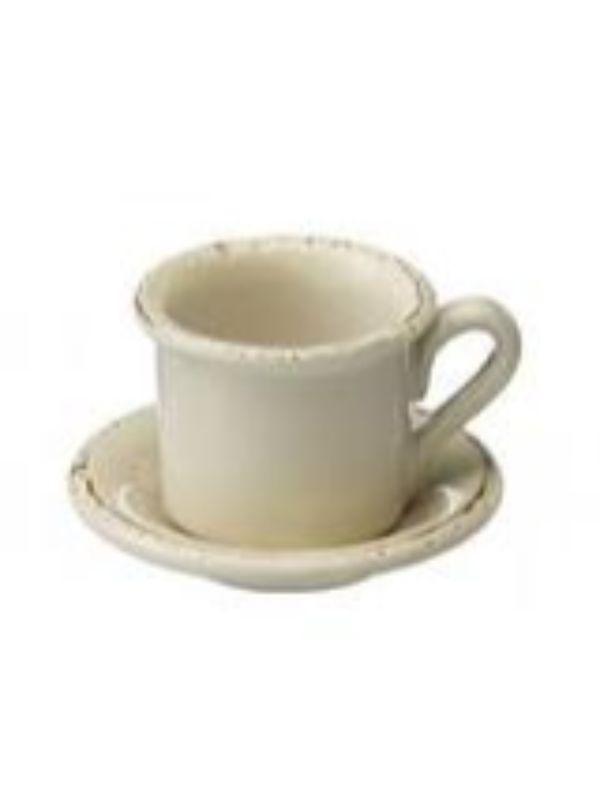 Casagent Espressokop med underkop
